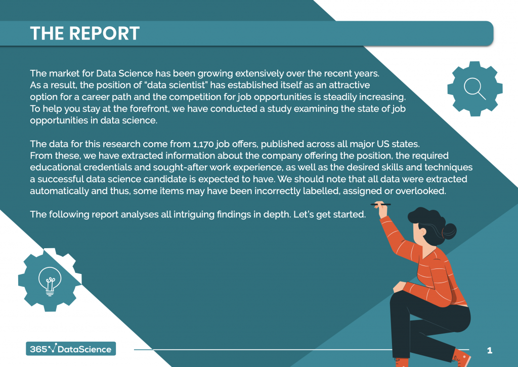 Data Science Jobs Report 2020 by 365 Data Science page 3
